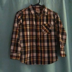 Youth Plaid Shirt